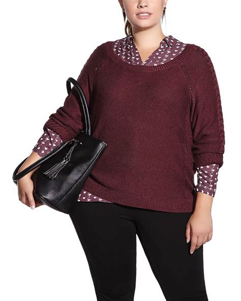 cable knit sweater plus size plus size cable knit sweater plus sizes reitmans