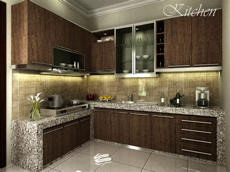 contoh design kitchen set kami zarissa interior design