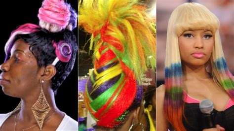 pictures of people who colored their hair with loreal feria b16 nicki minaj the ratchet review