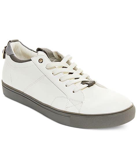 steve madden mens sneakers steve madden copter sneakers in white for lyst