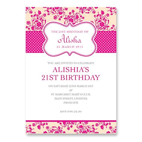 21st invitation templates the 21st birthday invitations best invitations card ideas