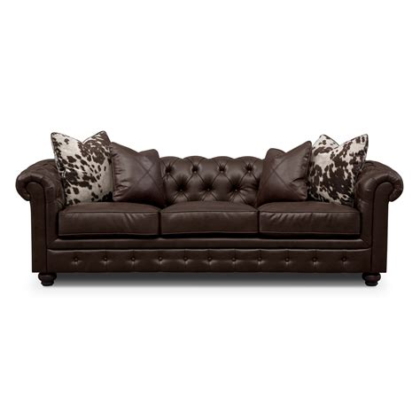 value city leather sofa value city furniture leather living room sets