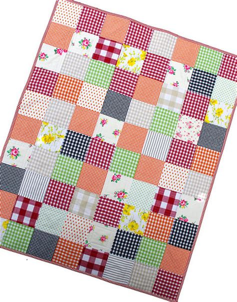 Gingham Quilt by Pepper Quilts Gingham Galore Two Finished Quilts