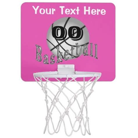 basketball stuff for your room personalized mini basketball hoop gifts for with name and jersey number or monogram