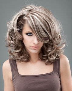 pics of silver frosted hair on black women gray highlights in dark brown hair or dark brown