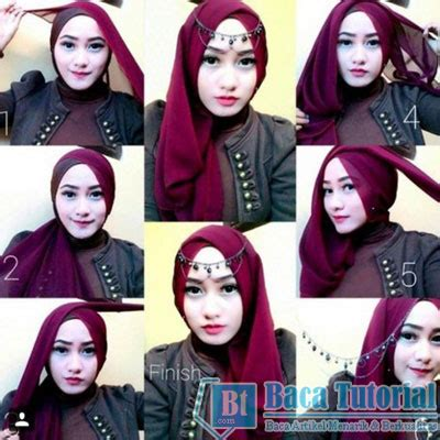 tutorial hijab pashmina pesta terbaru tutorial hijab pashmina simple untuk pesta baca tutorial