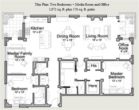 Residential Blueprints with Residential Floor Plans Design Bookmark 11795