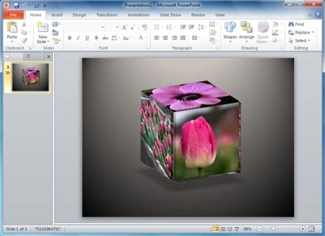 Solve 3d Cube Puzzle Templates For Powerpoint Powerpoint Cube Template