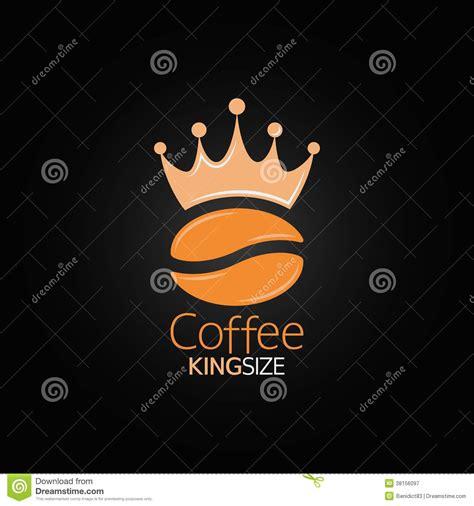 coffee menu wallpaper coffee bean crown design menu background stock vector