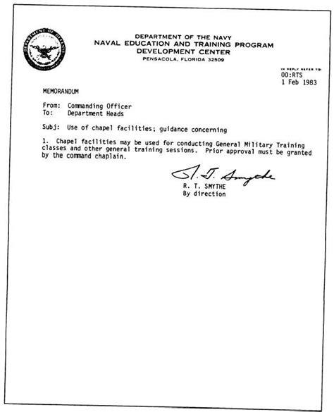 Memo Format Letterhead Figure 5 9 From To Memorandum On Letterhead Stationery