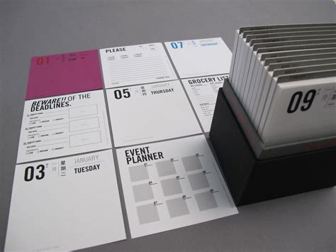 Are Calendars Recyclable Qube Calendars By Qube Studio At Coroflot