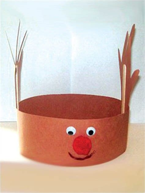 reindeer hat christmas ideas pinterest