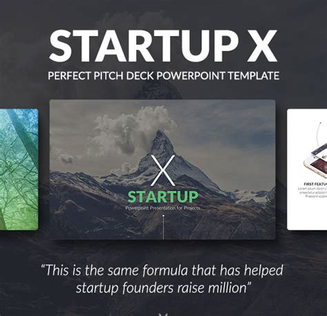 50 Powerpoint Templates To Kickstart Your Presentation Web Graphic Design Bashooka Powerpoint Template Startup Pitch