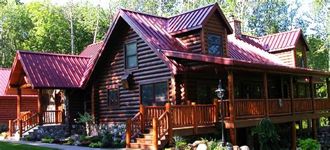 Small Cottage Home Plans by Minnesota Log Homes For Sale Lakeplace Com
