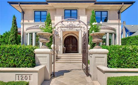 Popular Bedrooms 7 5 Million Stone Amp Stucco Home In Seattle Wa Homes Of