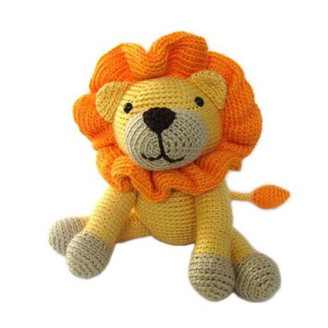 pattern crochet animal lion stuffed animals and the lion on pinterest