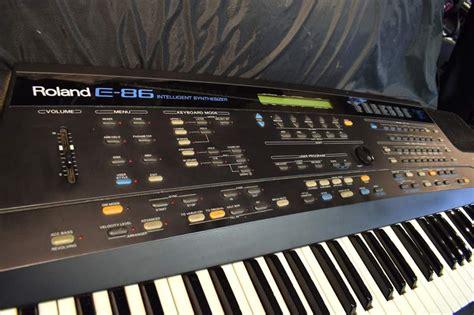 Keyboard Roland E86 Roland E86 Intelligent Synthesizer Keyboard Dijkmanmuziek