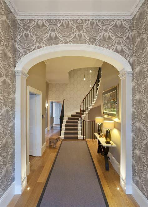 Flur Ideen Tapete by Tapete In Grau Stilvolle Vorschl 228 Ge F 252 R Wandgestaltung