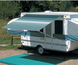 trailer awnings image gallery trailer awnings