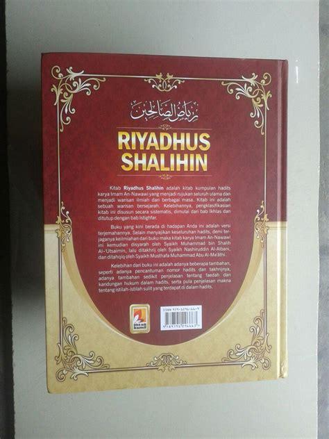 Buku Kitab Syarah Riyadhus Shalihin 1 Set 6 Jilid buku terjemah riyadhus shalihin