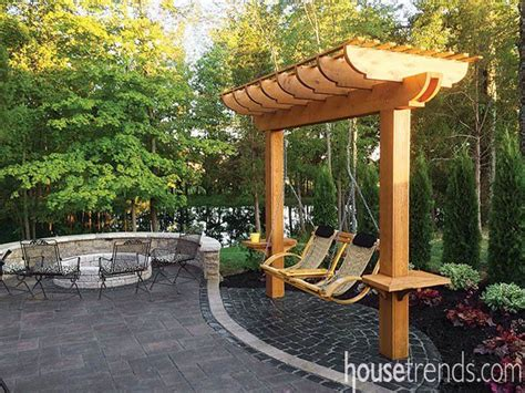 pergola swing best 25 pergola swing ideas on