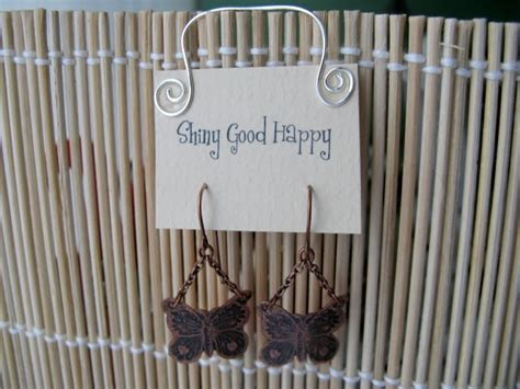 how to make your own earring cards shiny happy make your own cool earring cards