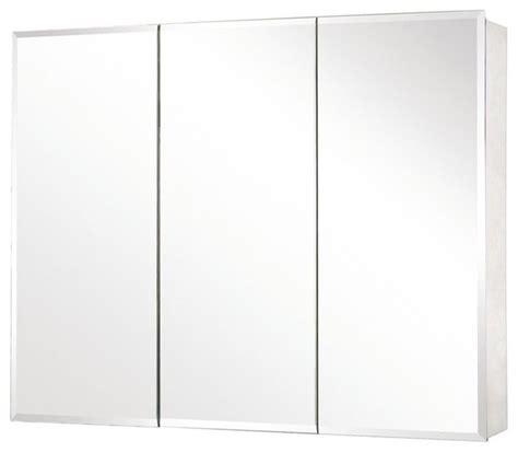 Mirror Medicine Cabinet by Pegasus Sp4590 48 Quot X 31 Quot Tri View Beveled Mirror Medicine