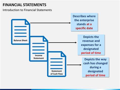 financial statements powerpoint template sketchbubble