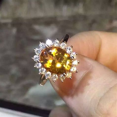 Citrine Rings by 17 Best Ideas About Citrine Ring On Chakra