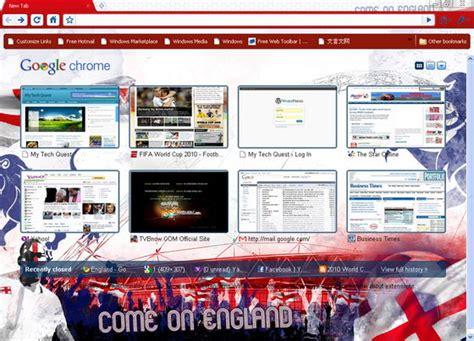 chrome theme history south africa fifa world cup 2010 themes for google chrome