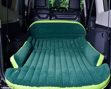 Backseat Car Mattress by Back Seat Mattress Will Transform Your Next Road Trip By Turning Car Into A Nap Space Daily