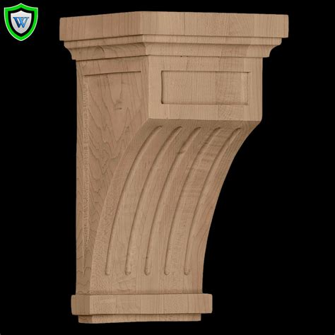 fluted corbel wood corbel designs