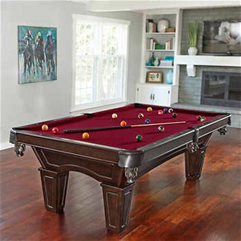 brunswick billiards ashton billiard table with table