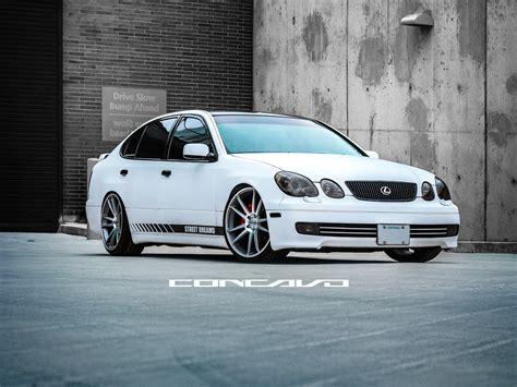 Custom Lexus Gs400 On Custom Concavo Cw S5 Sitting Clean