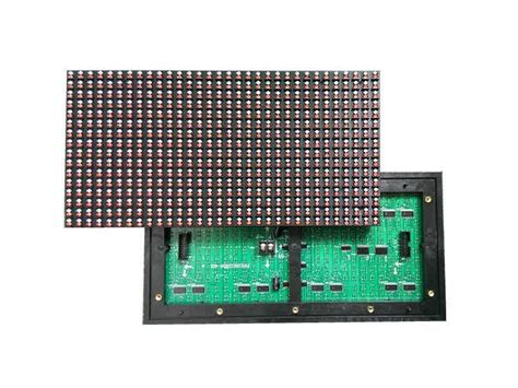 jual led matrix running text merah hijau doble led p10
