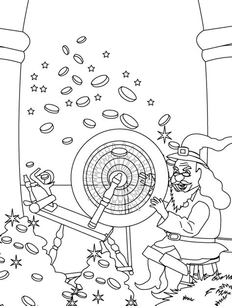 rumpelstiltskin coloring pages coloring pages