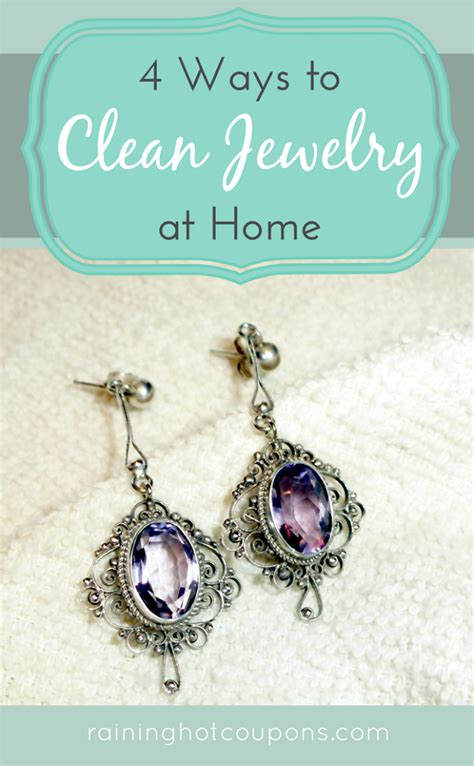 4 ways to clean jewelry at home