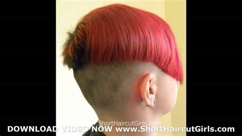 very short hair cut clippered female clipper cut short haircut girls female clipper cut