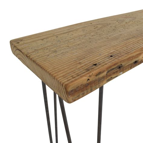 Reclaimed Console Table 35 Custom Rustic Reclaimed Wood Console Table Tables