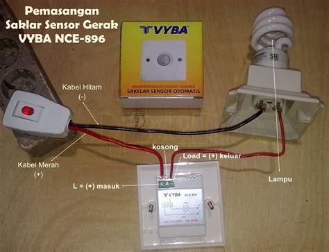 Saklar Gerak jual saklar listrik sensor gerak nc896 vyba u lu alarm