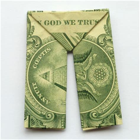 Origami Made With Money - how to fold money origami or dollar bill origami