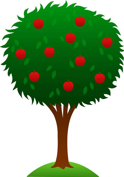 apple tree design free clip art