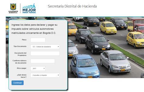 inpuestos para carros consulta impuesto de veh 237 culos cundinamarca consulta