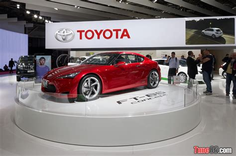 motor toyota toyota ft86 concept at paris motor show 2010 tune86