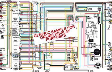 1980 corvette wiring diagram 1980 chevy corvette color wiring diagram classiccarwiring