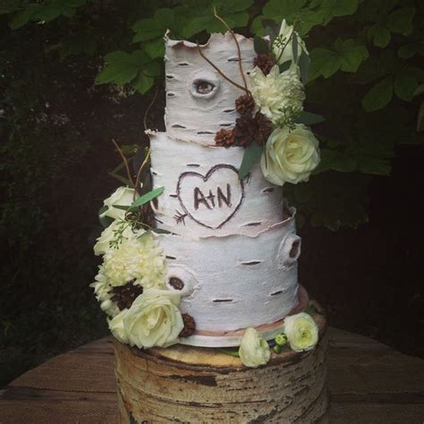 Hochzeitstorte Baum by Aspen Tree Inspired Wedding Cake Wedding Stuff Nobody