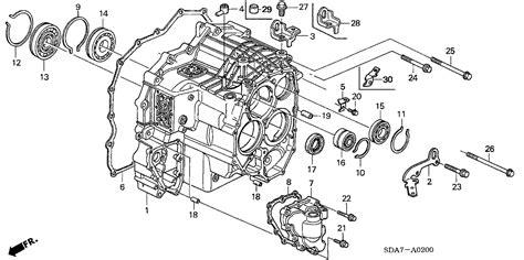 transmission control 1985 honda accord spare parts catalogs 2006 honda accord 2 door ex ka 5at at transmission case l4