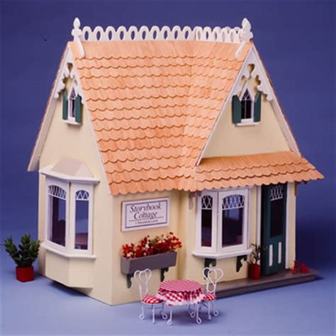 dolls house story storybook cottage dollhouse kit