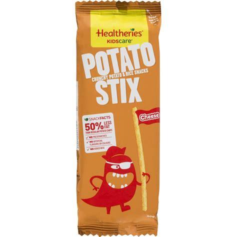 Healtheries Kidscare Potato Stix Roast Potato healtheries potato stix cheese flavour 160g woolworths