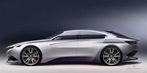 Peugeot Exalt Concept Peugeot Exalt Concept Design Sketch Rendering Car